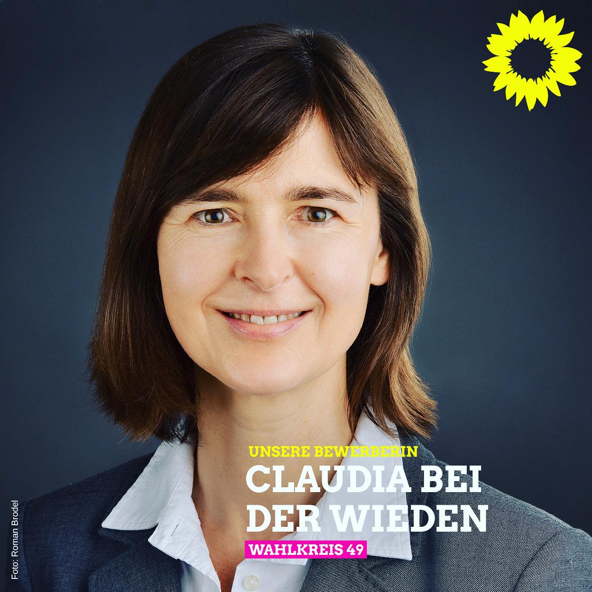 Unsere Kandidatin für den Bundestag: Claudia Bei der Wieden