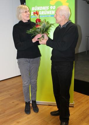Ratsfrau der Grünen erhält Ehrenbezeichnung der Stadt