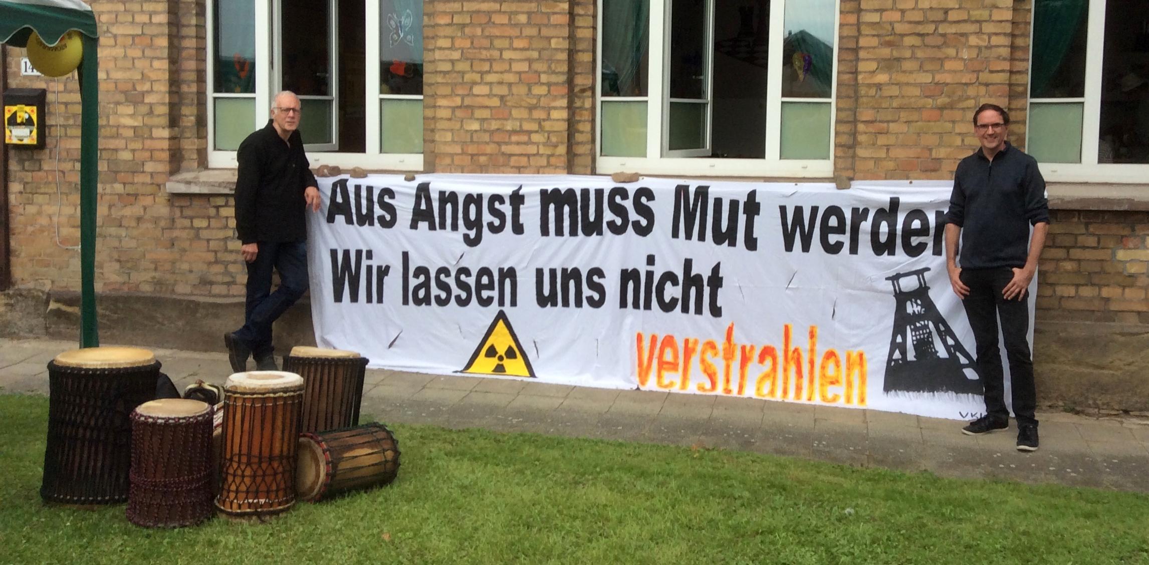 30 Jahre Widerstand – GRÜNE gratulieren der AG Schacht Konrad
