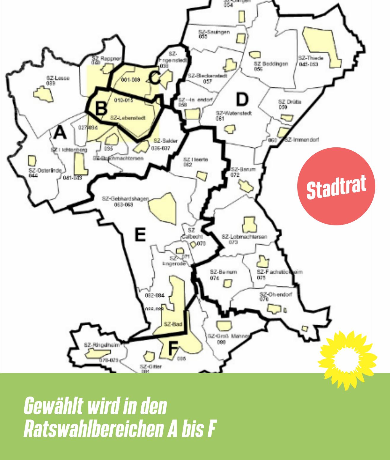 Ratswahlbereiche Salzgitter
